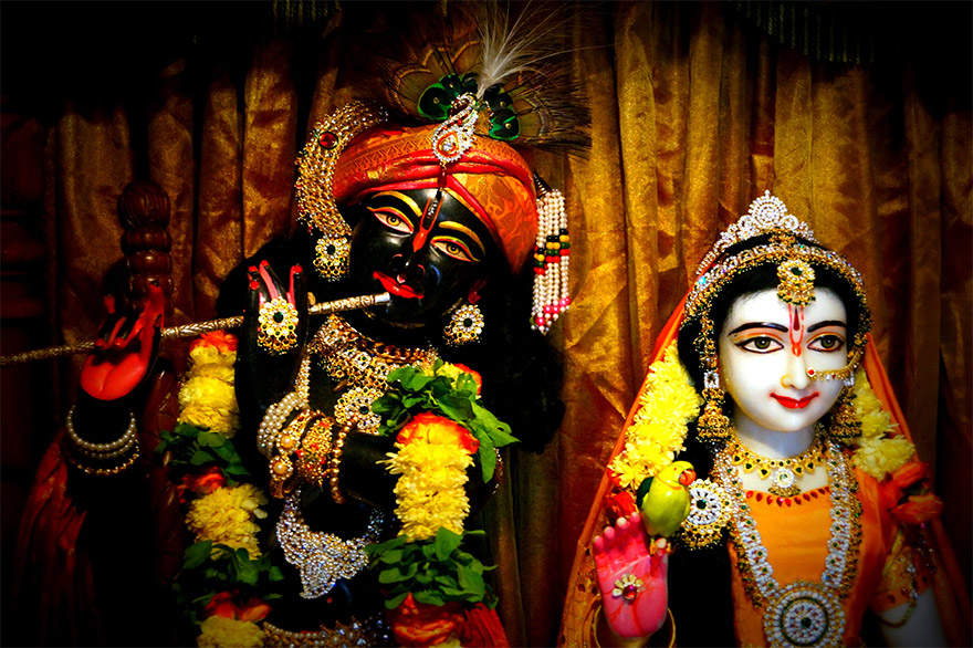 Radha Giridhari at Sevakapathi Das' Ashram in North of Chennai