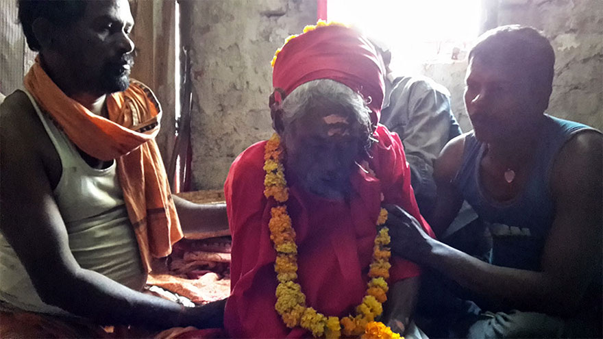 Sri Chaitanya Baba Enters Maha Samadhi at Tiger Cave Ashram in Odisha