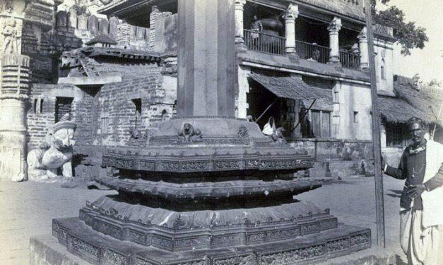 Origins of the Aruna Stambha in Puri