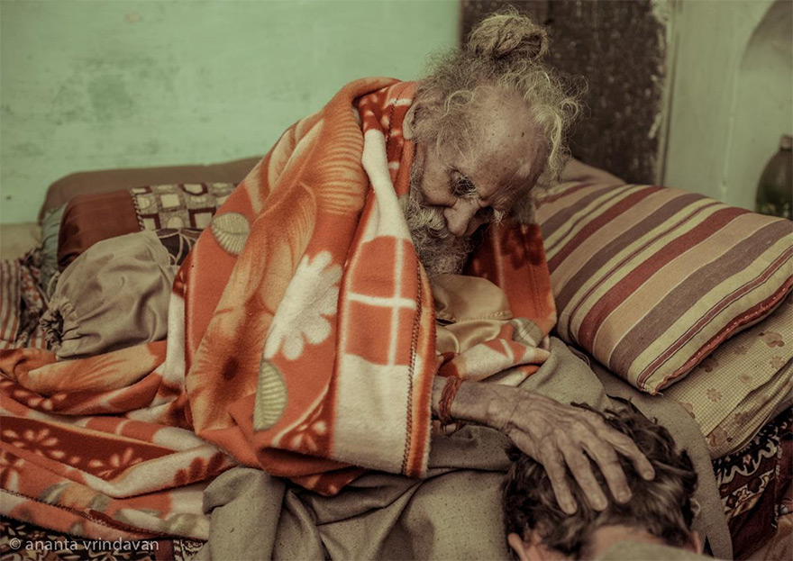 170 Year Old Hanuman Das Baba: A Living Saint of Vrindavan