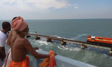 Remembering Pamban Swami at the Pamban Bridge
